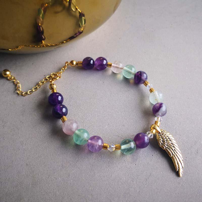 Angel Wing & Fluorit - Moni Sattler