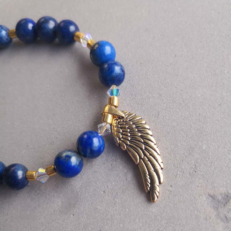 Angel Wing & Lapis Lazuli - Moni Sattler
